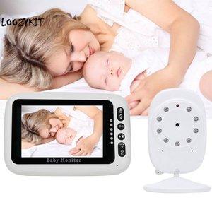 CYSINCOS 4,3-дюймовый беспроводной видео Baby Monitor High Resolution Digital сна Мониторинг 2Way Обсуждение ночного видения температуры датчика