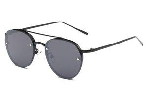 Corea del V gafas de sol gafas de sol gafas de sol del océano tendencia estrella de la manera con pequeños vasos frescos 1822