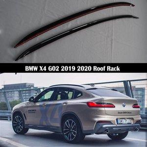 Barras de techo para X4 G02 2.019 2.020 racks rieles de la barra portaequipajes barras superiores de aleación de aluminio Bastidores Rail Cajas