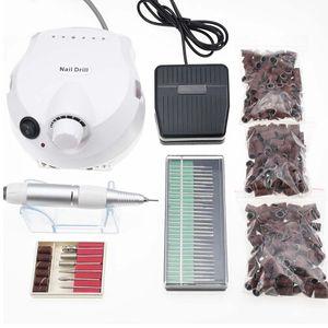 Pro 15W 30000RPM Elétrica unhas broca máquina Nail Art Equipamentos do Pedicure Arquivos elétrica Manicure Broca Acessório
