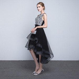 Factory direct sales of new elegant long before and after dinner evening dress host evening dress dress woman