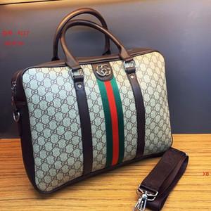Homens Designer Luxo s Briefcase alta qualidade Designer Estilo Negócios sacola de couro genuíno Messenger Bag Escritório Bolsa de Ombro