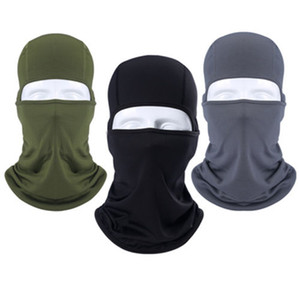 Full Face Balaclava Mask Bike Unter Sturzhelm-Winter-Schädel-Armee-Art-Neck Warmer