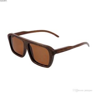 Fashion Factory Outlet Bois Lunettes de soleil New lunettes polarisantes en bois UV400 bambou Lunettes de soleil Lunettes de soleil en bois Marque