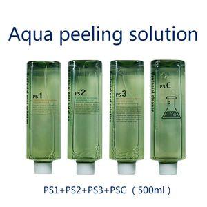Aqua Clean Çözüm Normal / Cilt Ücretsiz Nakliye için Şişe Aqua Yüz Serum Hydra Yüz Serumu Başına Aqua Peel Konsantre Çözüm 500ml