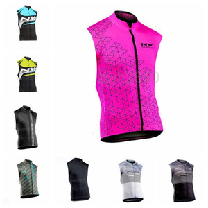 Northwave team NEW Cycling Sleeveless jersey Tops Summer mtb cycle bike shirt cycling clothing Ropa mailot Ciclismo Bike Clothing S2041831