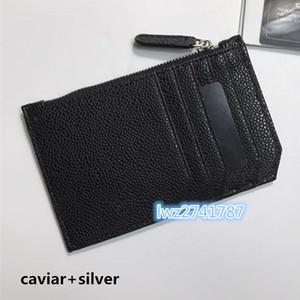 mais novo estilo de couro real titular do cartão de crédito carteira mulheres ID Card Case Moda Negócios Bolsa de mini carteira de bolso saco