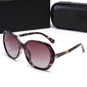 CHANEL 30003 envio gratuito de new vintage sunglass audrey moda óculos de sol das mulheres Popular designer big frame flap top oversized óculos de sol leopardo