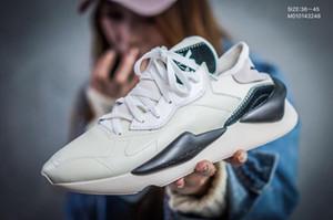 Erkek Y3 Koşu Ayakkabıları Kaiwa Chunky Sneakers Kanye Erkek Kadın eğitmenler Günlük Spor Açık Y3 Kusari II Deri Çizme Tasarımcılar Sneakers