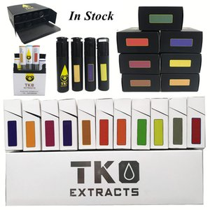 0,8 ml TKO Vape Carts Vape Pen-Patronen leeren 1ML Keramik Spule 510 Gewinde Atomizer E-Zigaretten Vape Behälter dickes Öl Dab Vaporizer Verpackung
