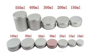 5ml 10ml 15ml 20ml 25ml 30ml 50ml 60ml 150ml Aluminum Lip Gloss Container cream jar cosmetic container Aluminum Lip