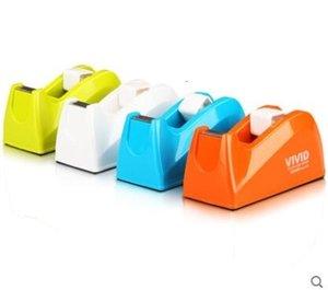 Forniture nastro variopinto Titolare Moda Tape Cutter creativo Piccolo Tape Dispenser colore casuale Ufficio SH190926