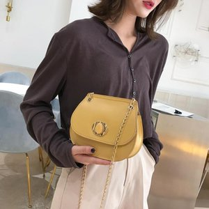 New Fashion Handbags Hit Color Novelty Women Mini Shoulder Semi Circle Purse Leather Crossbody Saddle Bag Daily Shopping