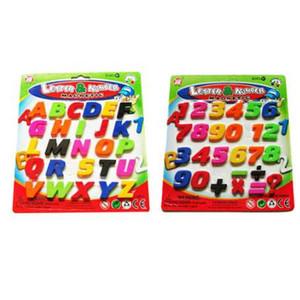 Números de OULII Imanes de nevera Alfabeto Imán de nevera Letras y juguetes magnéticos