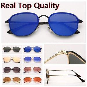 Designer sunglasses hexagonal brand sunglasses women mens driving sun glasses uv protect lenses with free leather case all retail package!!