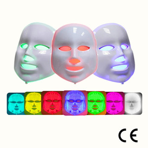 Hot Sale! 7color Led Face Mask led Light Face Mask Beauty Light Mask for Skin Tightening