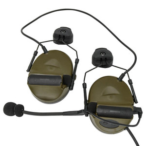 Outdoor Sports Tactical Headset Comtac Ii Helmet Bracket Version Noise Reduction Pickup Shooting Headphones Fg