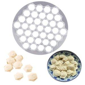 Mold Maker dumpling Cuisine Pâte Presse Ravioli Fabrication de moules bricolage Maker Boulette Pelmeni Moule forme Pasta 37 trous Y200612