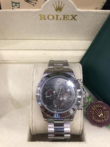 2020 nuovo con originale scatola di legno Uomini polso Sapphire Luxury 40 millimetri 116509 automatico degli uomini della Mens meccanico Watch Watches No Cronografo