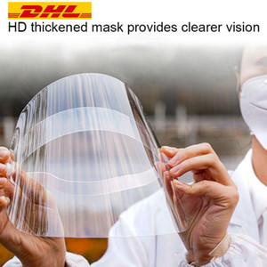 DHL Free 24 hours in stock ship protective face shield face mask cover fit for adults child kitchen FY8015