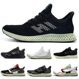 Erkekler ZX4000 Sneakers Karbon Erkek Spor Eğitmeni Boyutu 40-45 için 2019 hender Şeması Mens ZX 4000 Futurecraft 4D Koşu Ayakkabı Koşu