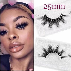 Yaopoly Eyelashes 25mm 3D Mink Eyelashes Criss-cross strands Cruelty Free High Volume Mink Lashes Private Label Dramatic Eye lashes Makeup
