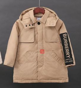 Yastıklı Çocuk Giyim Boys Kız Sıcak Kış Down Coat Kalınlaşma Kabanlar Aşağı üst nakliye yeni BU Çocuk Kış Ceketler% 90 ördek