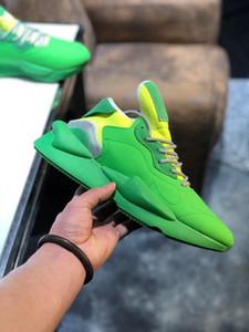 Erkek eğitmenler Y3 Ayakkabı Kaiwa Chunky Sneakers Kanye Erkek Kadın Günlük Spor Açık lüks Y3 Kusari II Leathe Boots Sneakers m2 Running