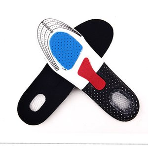 1pair For Sport Shoes Pad Unisex Thickening Shock Absorption Basketball Football Shoes Pads Silicone Soft Insole