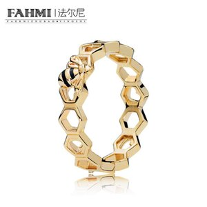 FAMHI 100% стерлингового серебра 925 подлинный классический издание медоносная пчела кольцо изысканные женщины обручальное кольцо ювелирные изделия 167116EN16