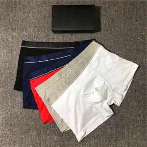 Vente chaude Hommes Designer 2020 Underpants nouvelle marque Sous-vêtements Boxeurs 5 couleurs L0g0 Hommes TOPS Taille M-boxers 2XL YF20434