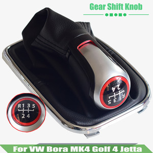 Fit For Volkswagen VW Bora MK4 Golf 4 Jetta 4 1998-2004 manual de 5 engrenagem Speed ​​Shift Knob Lever andebol caso capa Bota Gaiter