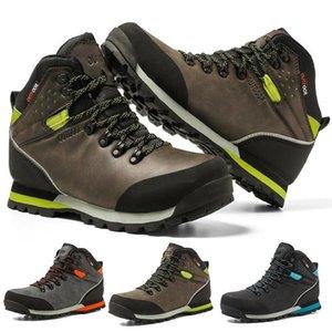 cungel Открытый Большой размер водонепроницаемый Походные ботинки для мужчин замши дышащий треккинг Кроссовки горные ботинки Anti-Скользкий кроссовки
