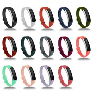 Für Fitbit Alta HR-Bügel-Replacement-Armband-Qualitäts-weicher Silikon-Sport-Band für Fitbit Smart-Armband Smartwatch Uhrenarmband