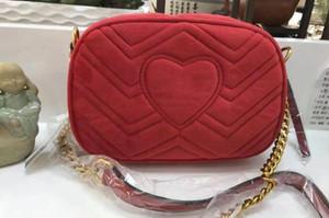 Les femmes marmont Velvet Soho Sac Disco épaule de mode sac de bourse de sac Les femmes de la chaîne sacs à main designer Messenger. 308364