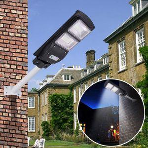 Edison2011 태양 LED 가로등 30W / 60W / 90W LED 태양 빛 PIR 모션 센서 타이밍 램프 + 원격 방수 광장 정원 마당