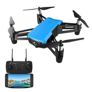 720P Geniş açılı kamera Rakım Tut RC Quadcopter RTF ile REDPAWZ R020 ŞOK WIFI FPV - Mavi