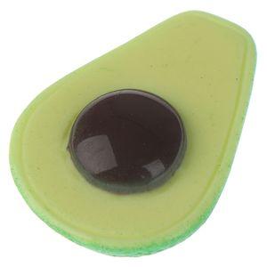 10pcs abacate fatias Slime Suprimentos Toy adição para Fluffy Limpar Slime Resina Fruit Slices Encantos Acessórios
