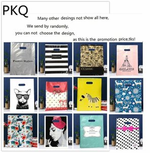 Hot Shopping Jewelry Small Wholesale New Bags 50pcs lot Thank Mini You Plastic Gift Sale Gift Bags Packaging Style Rvwmw