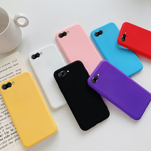 Candy Color Soft Silicon Case for Huawei P20 Pro P10 P9 P8 Lite 2017 Mate 10 honor 8 9 Lite P Smart Y9 Cell Phone Back Cover