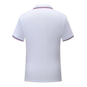 Polo shirt uniform White SD chongfu 899038New striped collar short sleeve men and women comfortable breathable T-shirt