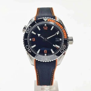 montre de luxo relógios mens 43.5mm mecânico ocasional automática pulseira de borracha relógio de safira wristwatches moderna 2813 relógios movimento dayjust
