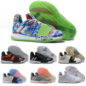 2019 أحذية كرة سلة جديدة للرجال تصلب vol.3 مطلوب درو دوري رحلة كورال جيمس هاردن 3 III أحذية رياضية حجم 40-46