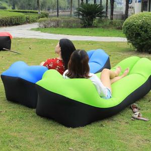 Sofá-Cama Dobrável Ao ar livre assento sofá-cama insuflável saco de sofá-cama Portátil Cadeira impermeável Tapete de piquenique Sofá-Cama Almofada de cama laybag