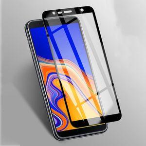 Soleil complet 9h protecteur d'écran en verre trempé pour Samsung Galaxy J8 J7 J6, plus J4 noyau J2 film protecteur