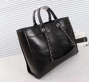 2018 Qualitäts-Dame-Einkaufstasche, Entwerfer-Schulter-Einkaufstasche, Damen Freizeit Hand Einkaufstasche Größe: 43 * 30 * 13cm