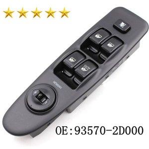 Venta caliente frontal izquierdo Master Power Interruptor de ventana de control 93570-2D000 93570-2D100 para el interruptor H yundai Elantra 2001-2006 ventana de coche Lifter