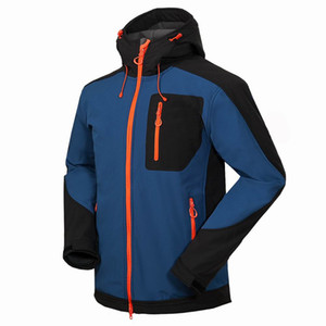 nuovi uomini HELLY giacca invernale con cappuccio Softshell per antivento e impermeabile morbido cappotto Shell Jacket HANSEN Giacche Cappotti 16501