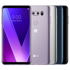 Original Recuperado LG V30 + V30 Além disso H930DS 6.0 polegadas Dual SIM Octa núcleo 4GB RAM 128GB ROM 16MP13MP 4G LTE Desbloqueado 10pcs DHL Celular