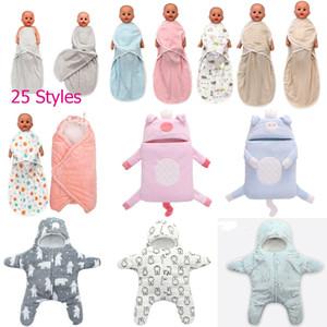 2019 Bebek Yumuşak Uyku Çanta Bebekler Yıldız Strollers Yatak Battaniye Kundaklama Kış Bebek Uyku Çuval Aksesuarları